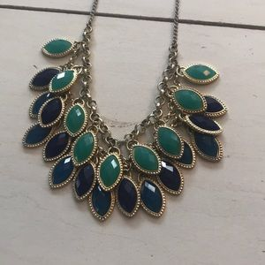 Jewelry - Peacock Colors Summer Necklace